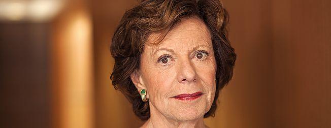"""Neelie Kroes inspireert Groningse Start-ups: """"Vertel over je succes, maar ook over falen"""""""