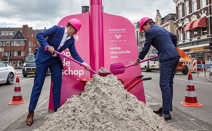 * Begin gemaakt met aanpak van binnenstad *  Lof van minister voor studenten Noorderpoort * Jonge Groningse ondernemer scoort met pizza-automaat en komt op RTLZ *